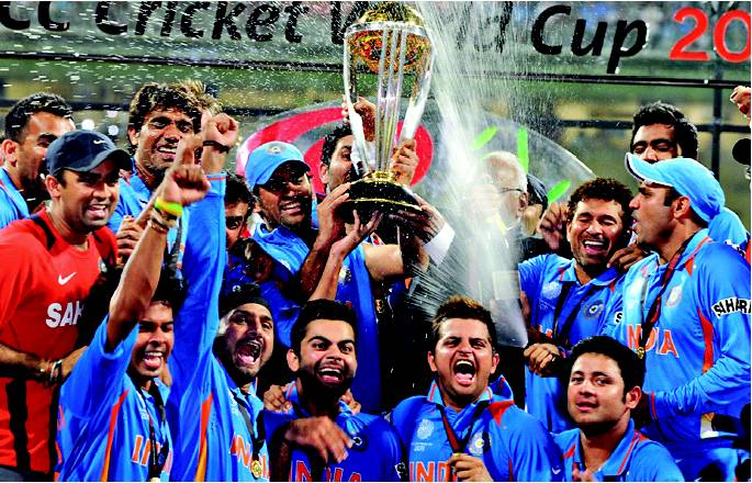 how winning the cricket world cup has increased moral in india