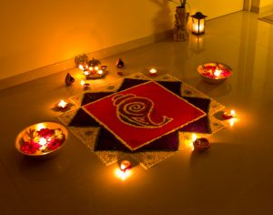 Rangoli of Diwali