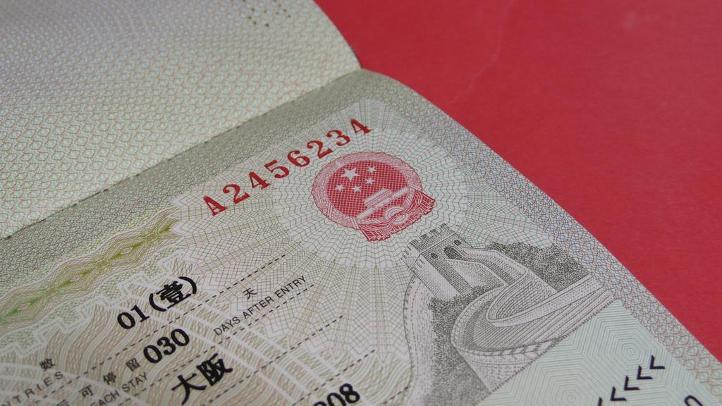 China Visa from UK